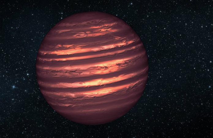 Hnědý trpaslík, credit: NASA/JPL-Caltech