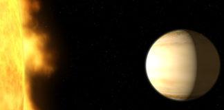 WASP-39b Credit: NASA, ESA, and G. Bacon (STScI)