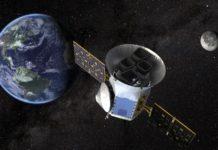 Družice TESS. Credit: NASA