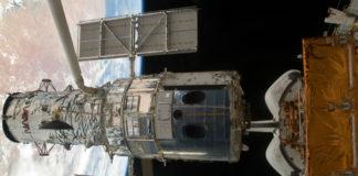 Hubblův kosmický dalekohled. Credit: NASA
