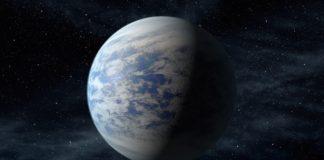 Super-země (kresba). credit: NASA Ames/JPL-Caltech/T. Pyle