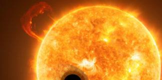 Horký jupiter. Credit: ESA/Hubble, NASA, M. Kornmesser