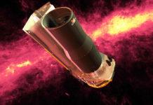 Kosmický dalekohled Spitzer. Credit: NASA/JPL-Caltech