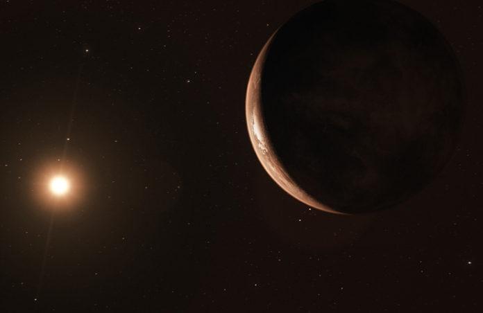 Super-země (kresba) Credit: ESO/M. Kornmesser