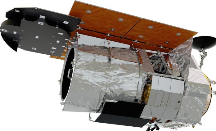 Družice WFIRST. Credit: NASA