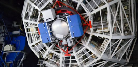 NEAR na dalekohledu UT4 VLT. Credit: ESO